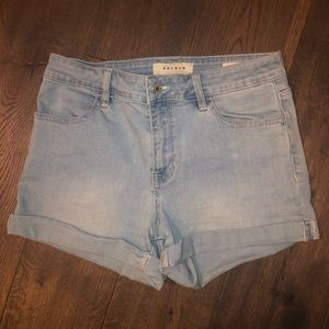 PacSun Super Stretch Shortie Shorts Size 27